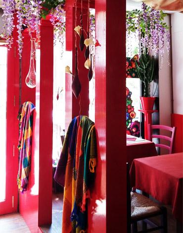 Arredamento in stile per il ristorante messicano Q.in Mexican Ristò